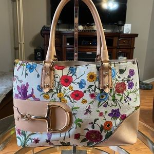 Gucci Floral Satchel bag